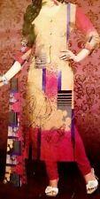 100% cotton Open Fabric 3 Peice Salwar Kameez Dupata Suit Bollywood dress saree
