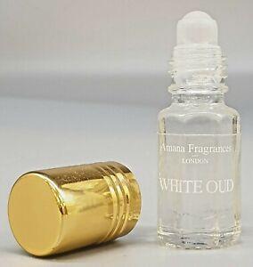 White Oud Premium Oil Perfume Attar, Atter, Ittar - Full Strength