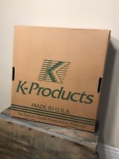 Vintage John Deere K Brand Products Made in the USA case hat cap Original Box
