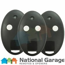 BFT Mitto 2M & 4M Rolling Code Garage Door Remote Control 2 Button Keyring x3