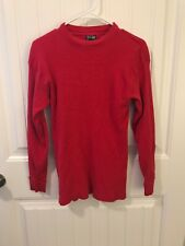 Skyland Large Red Thermal Long Sleeve