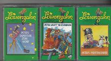 Löwenzahn - Peter Lustig - 3 x  Karussell Kassetten Sammlung Paket ab 5 Jahren