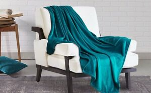 Fleece Blanket Throw Flannel Ultra Soft Warm 260 GSM Cozy Soft Bed Couch Sofa