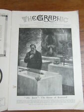genre L ILLUSTRATION : WWI WAR GUERRE 14/18 : revue THE GRAPHIC 1917 Nr 2469