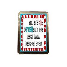 Swim Teacher - Novelty Fridge Magnet (THE BEST)