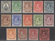 Turks and Caicos Islands 1922-26 KGV Set Mint SG162-175 cat £45
