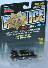 Racing Champions Police #27 - 1957 CHEVY BEL AIR * Texas Highway Patrol * - 1:61
