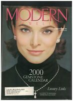 Modern Jeweler Magazine November 1999 Keepsake Nigerian Rubellite