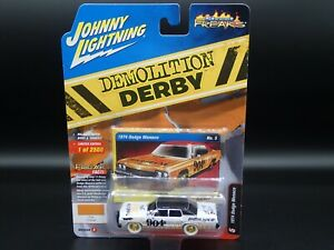2020 JOHNNY JL WHITE LIGHTNING 1974 DODGE MONACO DEMO DERB STREET FREAK CHASE 3B