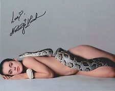 "Nastassja Kinski ""Richard Avedon"" Signed Photo - Iconic Snake Shot - SEXY!"