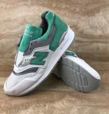 New Balance 997 Made In USA Leather Mens Sneakers Mint Green