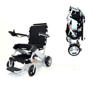 Elektrischer Rollstuhl faltbar ideal für Reisen mit Ersatzakku NEU!