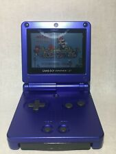 Nintendo Game Boy Advance SP Console AGS 001 Front light LCD GBA SP Blue