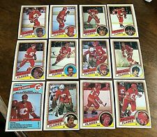 1984-85   O-Pee-Chee  CALGARY FLAMES 20  card  team set