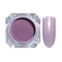 1g Holographicss Nail Glitter Powder Nail Art Purple Laser Dust  Pigment