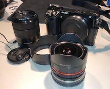 Sony Alpha NEX-7K 24.3MP Digital Camera - Black (Kit w/ E OSS 18-55mm Lens)
