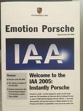 BROCHURE Auto - 2006 PORSCHE CARRERA GT, 911, BOXSTER, CAYMAN & CAYENNE-Germania