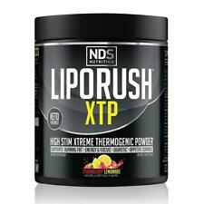 NDS Liporush XTP Thermogenic Powder-STRAWBERRY LEMONADE - FREE SHIPPING