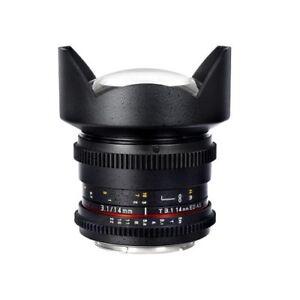 Samyang 14mm T3.1 VDSLR Mark II Lens for Sony E mount BNIB