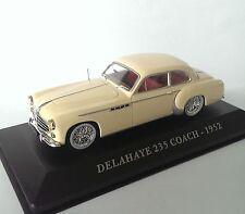 diecast car 1:43 DELAHAYE 235 COACH 1952 -  IXO DE - CCC003