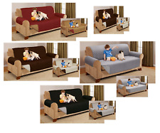Sofa Setter Quilted Protector Reversible Throw Cover Furniture Protector Covers