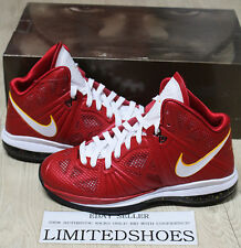 NIKE LEBRON VIII 8 P.S. NBA FINALS PE SPORT RED 441946-601 US 7.5 playoff mvp ix