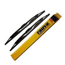 "2  Rain X Weatherbeater Metal Frame Wiper Blades size 18"""