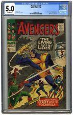 Avengers #34 CGC 5.0 1966 - 1st Appearance of Living Laser