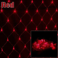 3Mx2M LED String Fairy Net Lights Wall Curtain Christmas Tree Garden Home Decor
