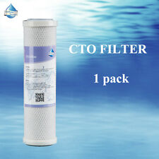 MS® 1 of Carbon Block CTO Water Filter Cartridge 5 Micron Standard Size Filter