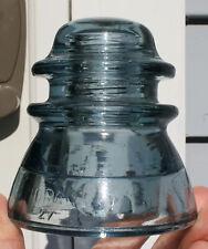 Delft/Cornflower CD 154 Vidrart Cristalerias Argentina Glass Insulator