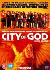 City of God   Rated 18   Dvd Reg 2   Disc and Cover Only No Case