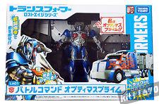 Transformers Takara Japan Lost Age Battle Command # LA01 Optimus Prime Xmas