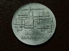 FINLAND 10 MARKKAA SILVER COIN 1967 (3040)