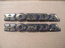 Honda GL1200 Goldwing Aspencade Fairing Badges HONDA - Pair