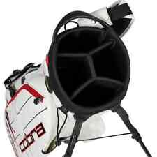 New Cobra Golf Vessel Limited Edition-Vessel Tour Stand Bag The Open White/Red