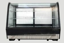 120LT COUNTERTOP REFRIGERATED COLD DISPLAY FRIDGE CAKES CABINET SUSHI GLASS CAFE