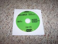 2012 Ford F53 Super Duty Motorhome Chassis Truck Shop Service Repair Manual DVD