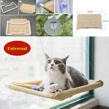 Cat Window Seat Bed Mounted Pet Perch Shelf Basking Sunny Cushion Mount 50pounds