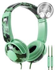 Mumba Kids con Cable de control de volumen de los auriculares sobre oreja auriculares auriculares auriculares