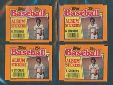 (4) 1984 TOPPS STICKERS WRAPPERS - ROBIN YOUNT (NM-MT) / LOT OF 4