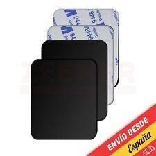 Placa Metal Adhesivo Magnético Coche Imán para GPS Móvil [ iPhone - Huawei ]