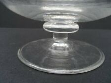 Antique cut glass sugar basin - Victorian cut glass footed bowl - comport
