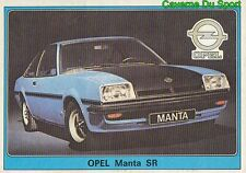 153 OPEL MANTA SR FIGURINE VIGNETTE STICKER SUPER AUTO 77 PANINI