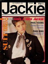 Jackie Magazine 27 April 1985 Issue 1112    Pete Burns   Martin Kemp   Paul King
