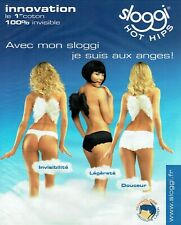 Publicité Advertising 129 2010  Sloggi  hot hips slip sous vetements