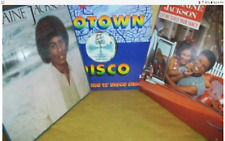 MICHAEL JACKSON ALBUM MIX & 2 FREE JERMAINE ALBUMS THE JACKSON 5 COLLECTIBLE
