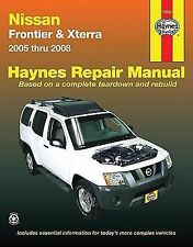 Nissan Frontier and Xterra, '05-'08 by John H. Haynes (2008, Paperback)