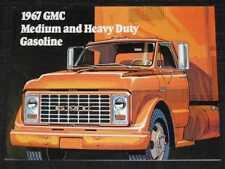 1967 GMC MD/HD Gas Trucks Catalog Sales Brochure CDN