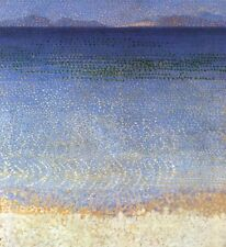 Henri-Edmond Cross The Golden Isles Oil Painting repro